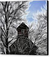 Tree House Canvas Print by Steve McKinzie