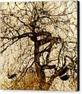 Tree Of Life  Canvas Print by Ann Powell