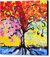 Tree Of Life Canvas Print by Ramona Matei