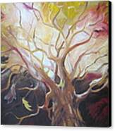 Tree Of Thought Canvas Print by Paula Marsh