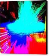 Tree Splash Canvas Print by Jeffrey J Nagy