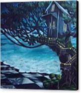 Treehouse Canvas Print by Lori Keilwitz