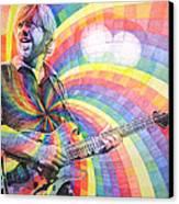Trey Anastasio Rainbow Canvas Print by Joshua Morton