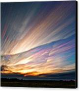 Triangular Void Canvas Print by Matt Molloy