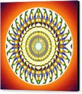Tribal Magnetism Canvas Print by Derek Gedney