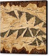 Tribal  Canvas Print by Nickie Bradley