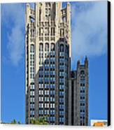 Tribune Tower Chicago - History Is Part Of The Building Canvas Print