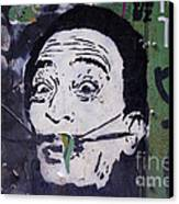 Tribute To Salvador Dali Canvas Print