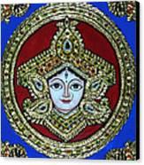 trinetra Durgaji Canvas Print
