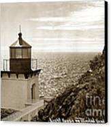 Trinidad Head Light Humboldt County California 1910 Canvas Print