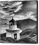 Trinidad Light In Black And White Canvas Print by Adam Jewell