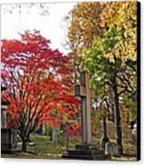 Trinity Cemetery Canvas Print by Sarah Loft
