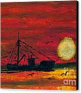 Trip Home Canvas Print by R Kyllo