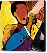 Trip Trio 1 Of 3 Canvas Print by Everett Spruill