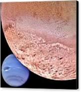 Triton And Neptune Canvas Print