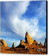 Trona Pinnacles California Canvas Print by Bob Christopher