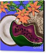 Tropical Fruit Canvas Print by Christine Fournier