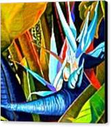 Tropical Paradise Canvas Print by Susan Robinson