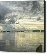 Tropical Winds In Orange Beach Canvas Print