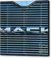 Truck - The Mack Grill Canvas Print by Paul Ward