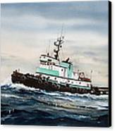 Tugboat Island Champion Canvas Print by James Williamson
