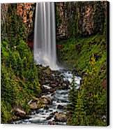 Tumalo Falls Canvas Print by Pamela Winders