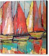 Tuna Boats Canvas Print by Kip Decker