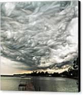 Turbulent Airflow Canvas Print
