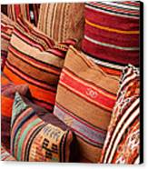 Turkish Cushions 03 Canvas Print by Rick Piper Photography