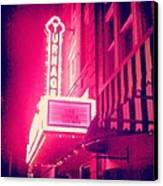 Turnage Theater  Canvas Print