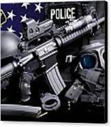Tuscaloosa Police Canvas Print by Gary Yost