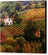 Tuscan Autumn Canvas Print
