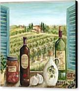 Tuscan Delights Canvas Print by Marilyn Dunlap
