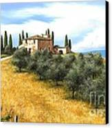 Tuscan Sentinels Canvas Print by Michael Swanson