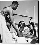 Tuskegee Airmen, C1943 Canvas Print