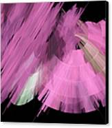 Tutu Stage Left Abstract Pink Canvas Print