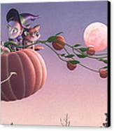 Twilight Flight Canvas Print by Richard Moore