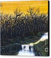 Twilight's Last Breath Canvas Print by Erik Coryell