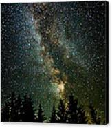 Twinkle Twinkle A Million Stars D1951 Canvas Print by Wes and Dotty Weber