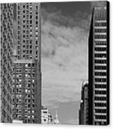 Two Chicago Classics- Carbide And Carbon And Wrigley Building Canvas Print by Christine Till