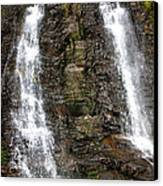 Two Falls Canvas Print by Garry Gay