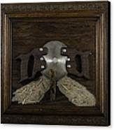 Two Handled Saw Blade Canvas Print