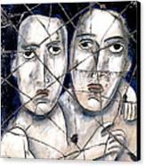 Two Souls - Study No. 1 Canvas Print