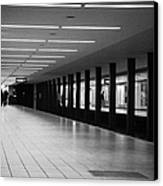 u-bahn platform and station Berlin Germany Canvas Print by Joe Fox