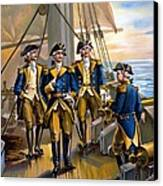 U S Navy Commander In Chief Of The Fleet Canvas Print by The Werner Company