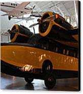 Udvar-hazy Center - Smithsonian National Air And Space Museum Annex - 1212100 Canvas Print