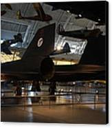 Udvar-hazy Center - Smithsonian National Air And Space Museum Annex - 121247 Canvas Print by DC Photographer