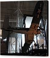 Udvar-hazy Center - Smithsonian National Air And Space Museum Annex - 121248 Canvas Print