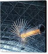 Udvar-hazy Center - Smithsonian National Air And Space Museum Annex - 121263 Canvas Print by DC Photographer