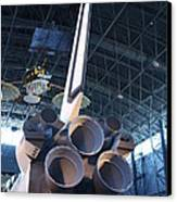 Udvar-hazy Center - Smithsonian National Air And Space Museum Annex - 121269 Canvas Print by DC Photographer